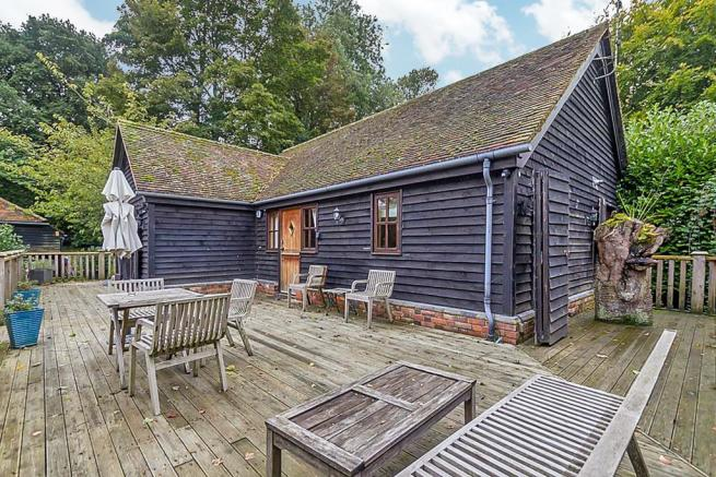 Stable Cottage Decking