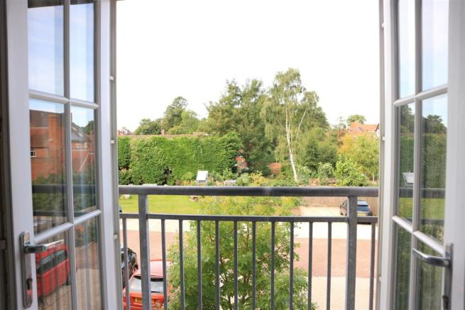 REAR VIEW FROM FLAT