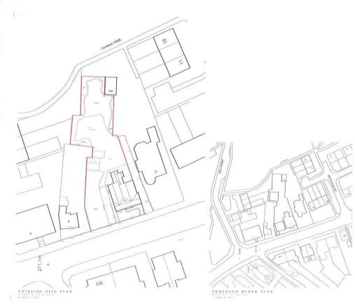 Site plan (does not included No 11)
