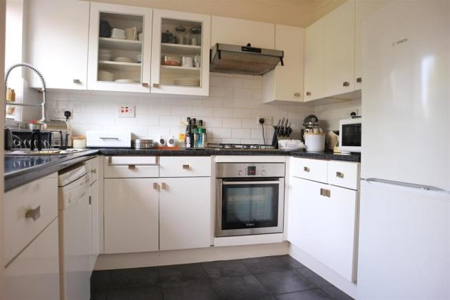 Fitted White Kitchen