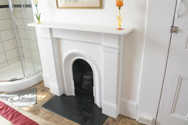 Flat 2 - Fire Place