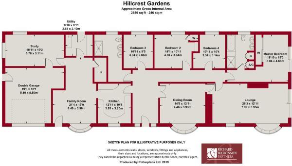 4 bedroom detached bungalow for sale in Hillcrest Gardens