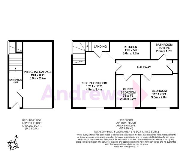 20 Horstman Close- floor plan