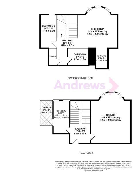 4 Pembroke Gate floor plan