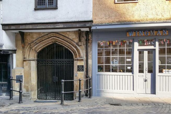 10 St Barts Entrance