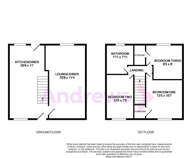 167 Coronation Avenue Floorplan