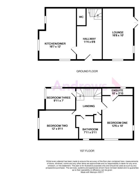 7 Titus Way Floorplan