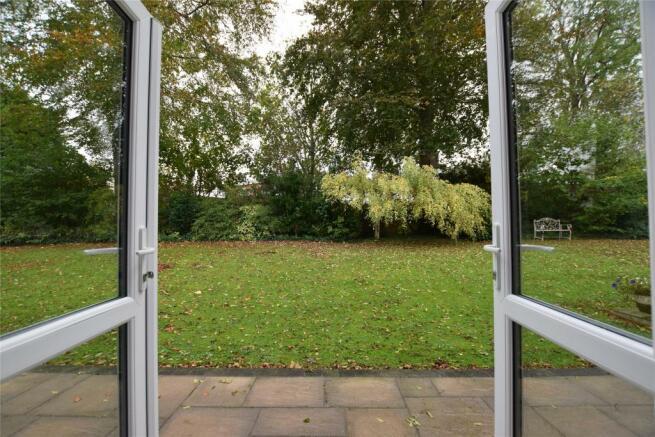French Doors To Communal Garden
