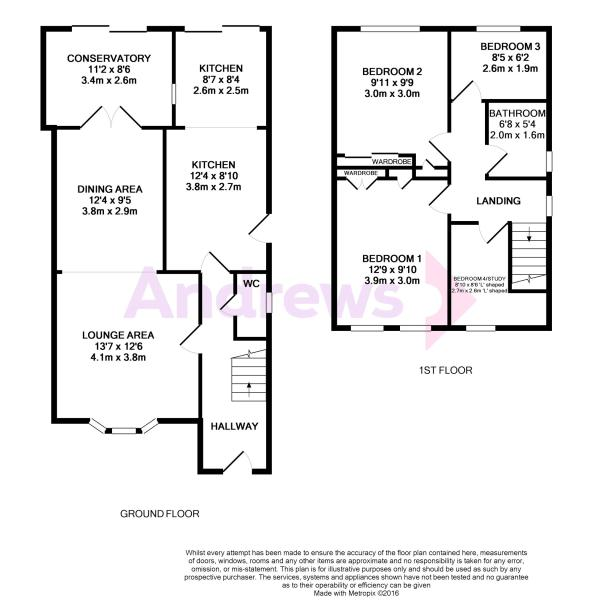 Coombe Close Floor Plan