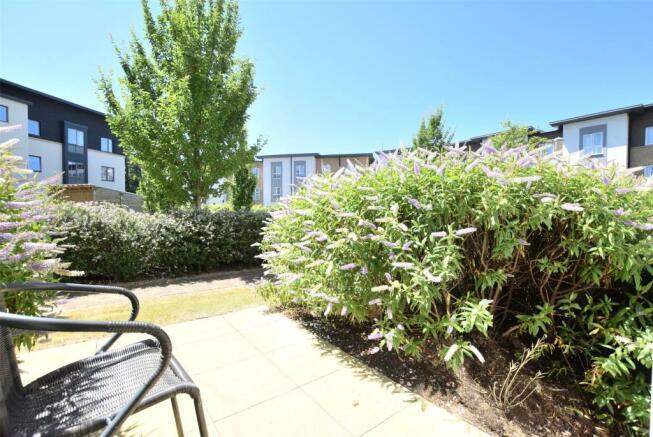 Communal Gardens from private door