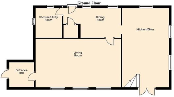 The Cottage GF Floorplan