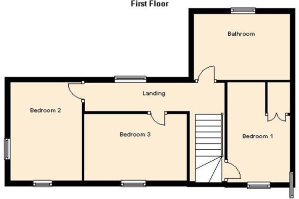 The Cottage FF Floorplan