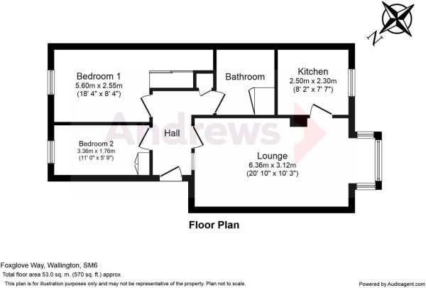 Foxglove Way Floorplan