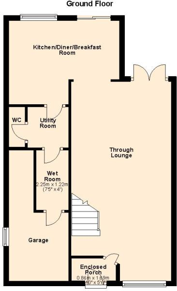 1a Hill Road - Ground Floor