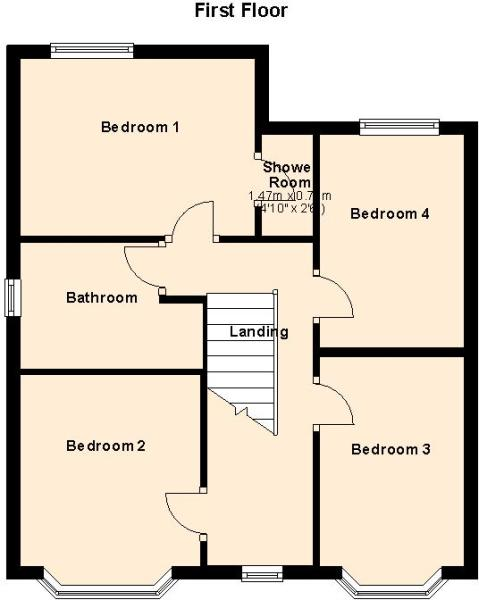 1a Hill Road - First Floor