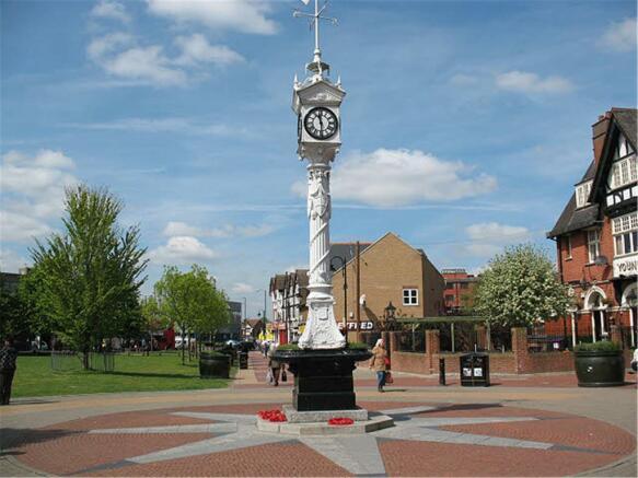 Mitcham Town Centre
