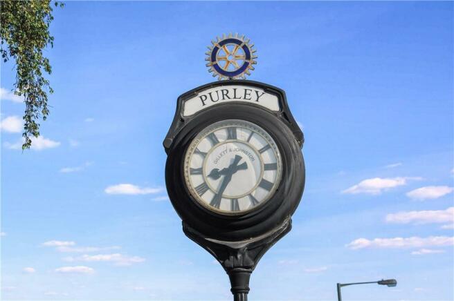 Purley Clock