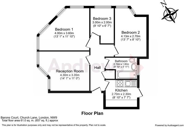 Floorplan Audio 5 Barons Court
