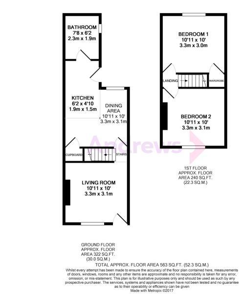 5 Gladstone Road Floorplan metropix10286805