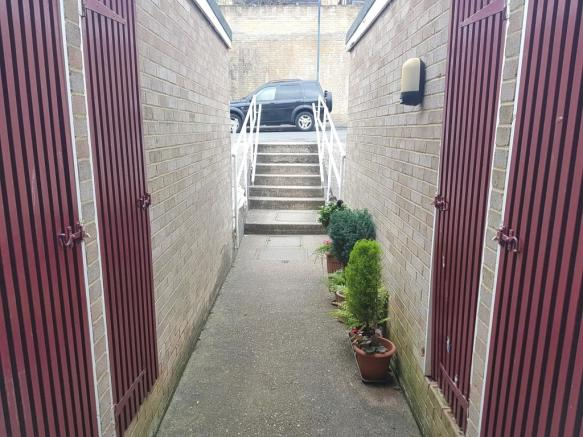 Entrance and Storage