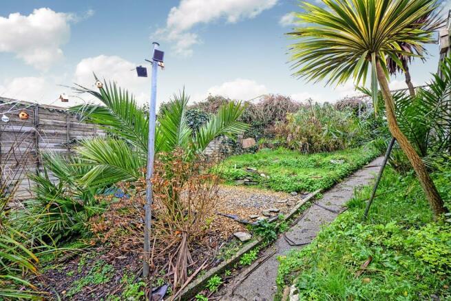 Rear Garden 37' x 18