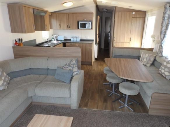 3 bedroom mobile home for sale in Newquay View Resort, Trevelgue