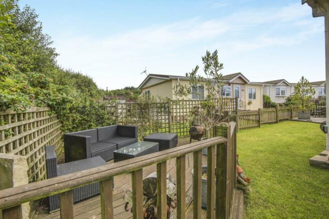 Decked Area & Garden
