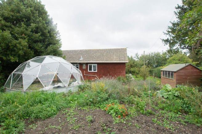 Garden with dome