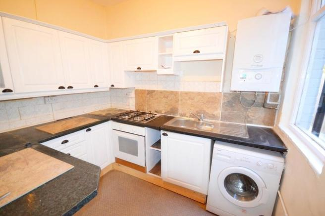 Kitchen with white goods
