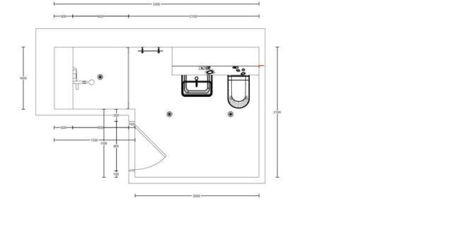 Floor Plan - Shower Room