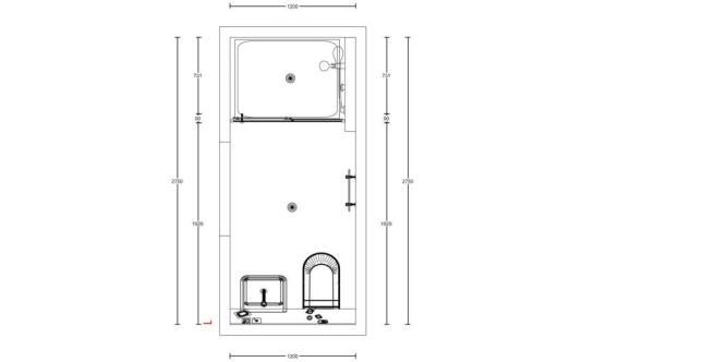 Floor Plan - Shower