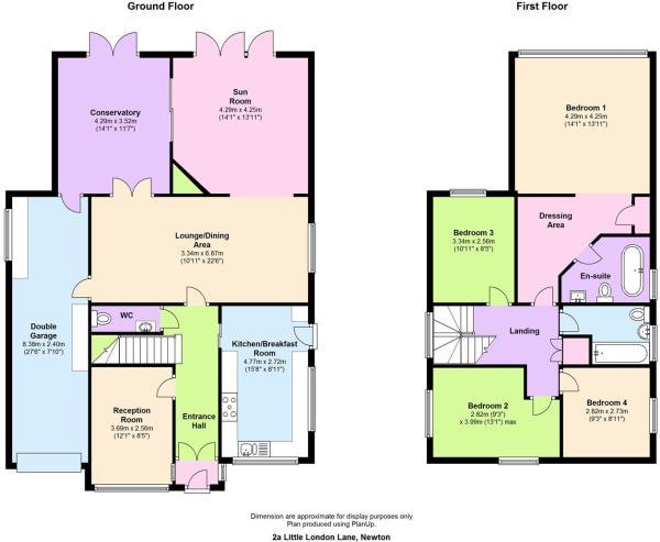 floor plan 2a Little
