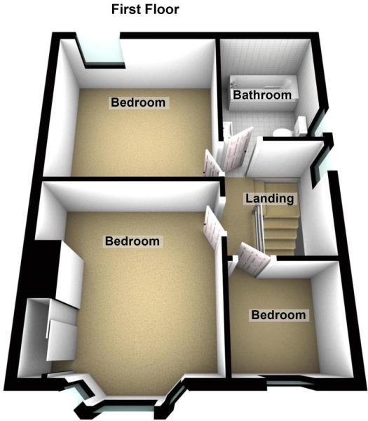 Seacrest Avenue - Floor 1.JPG