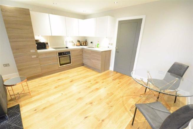 Fitted Kitchen Open Plan Lounge/Diner: