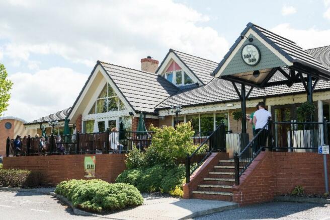 premier Inn and pub