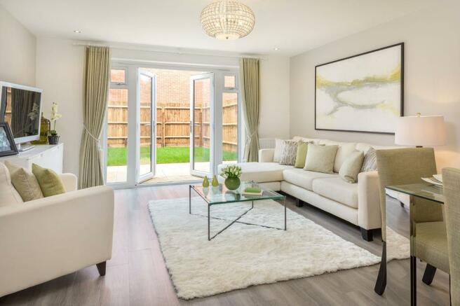 Ibstone living room