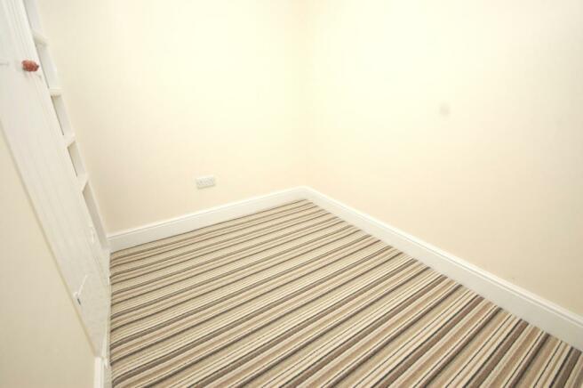 Bed/Storage Area