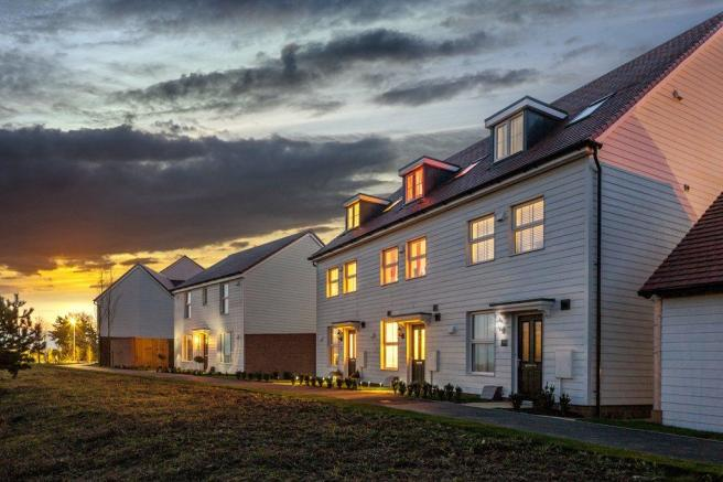 New homes at Martello Lakes