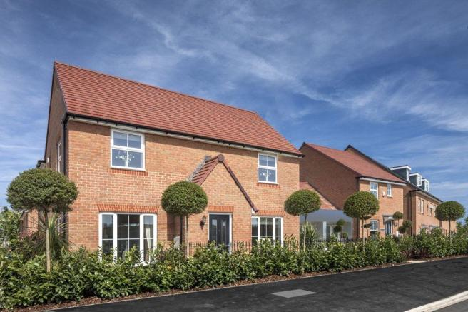 Beautiful new homes at Martello Lakes, Hythe