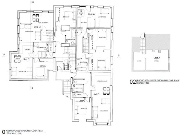 Floor Plan - Ground Floor (Potential)