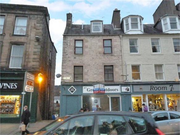 1 Bedroom Flat For Sale In High Street Hawick Scottish