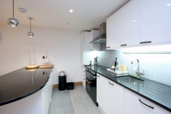 Kitchen with modern