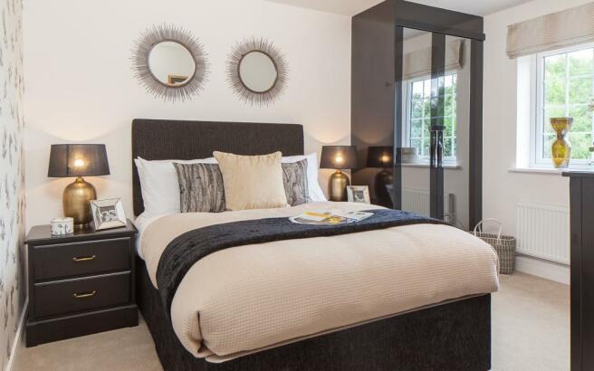 Greenvale double bedroom