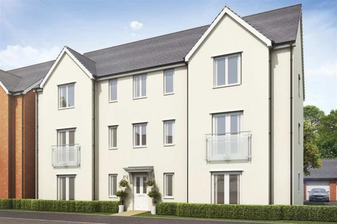 Artist's impression of Bulmers House