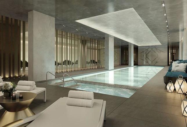 20m swimming pool and spa