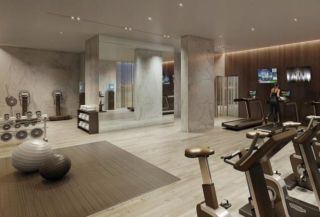 Residents` fitness suite
