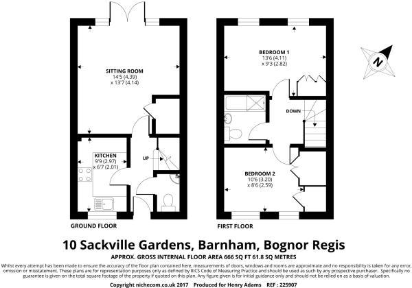 10 Sackville Gardens
