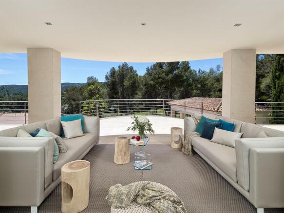 Villa with sea & golf course view in Son Vida - Palma de Majorca