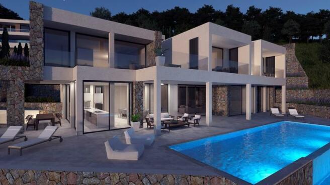 Spectacular modern villa in Son Vida with unbeatable sea view - Palma de Majorca