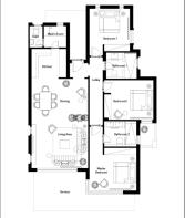 Blanca floor plan